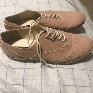Blush pink shoes size 7.5 forever 21